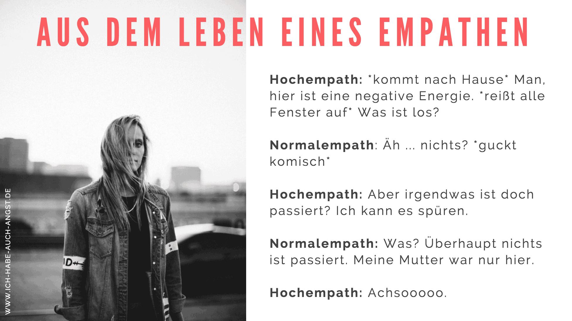 Was sind Hochempathen und was unterscheidet einen Empath von einem nicht empathischen Menschen?