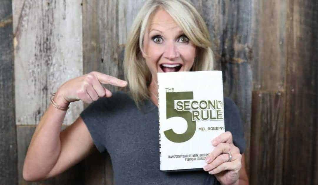 """Mel Robbins """"5-Sekunden-Regel"""" gegen Aufschieberitis & Prokrastination"""